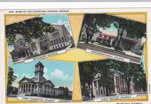 Some of the Churches, Eugene,Oregon,00-10s