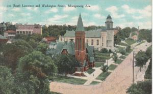 MONTGOMERY , Alabama, 1909 ; South Lawrence & Washington Streets