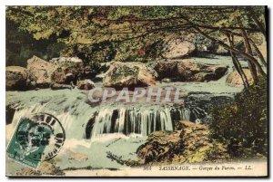 Old Postcard Sassenage Furon Gorge