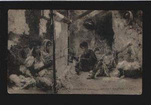 076308 Hardworking Slaves Female HAREM by ROBIQUET old SALON