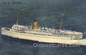 SS Florida, Miami, Florida, FL USA Steam Ship 1962 wear left top corner, post...