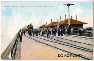 Midlake RR Station, Salt Lake Ut