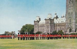 Changing Of The Guards, Parliament Hill, OTTAWA, Ontario, Canada, 1940-1960s