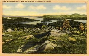 NH - Lake Winnipesaukee. From Meredith Neck