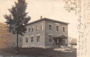 LPV65 Waitsfield Vermont VT Postcard RPPC New Home of Valley Lodge