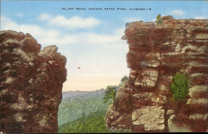 Pulpit rock Cheaha State Park Alabama
