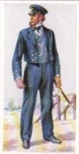Carreras Vintage Cigarette Card Naval Uniforms No 38 Boatswain 1863