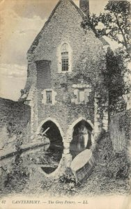 Vintage 1919 Louis Levy Postcard, Canterbury, The Grey Friar, Kent 60Z