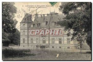 Postcard Old St Pierre le Moutier Nievre Chateau Beaumont