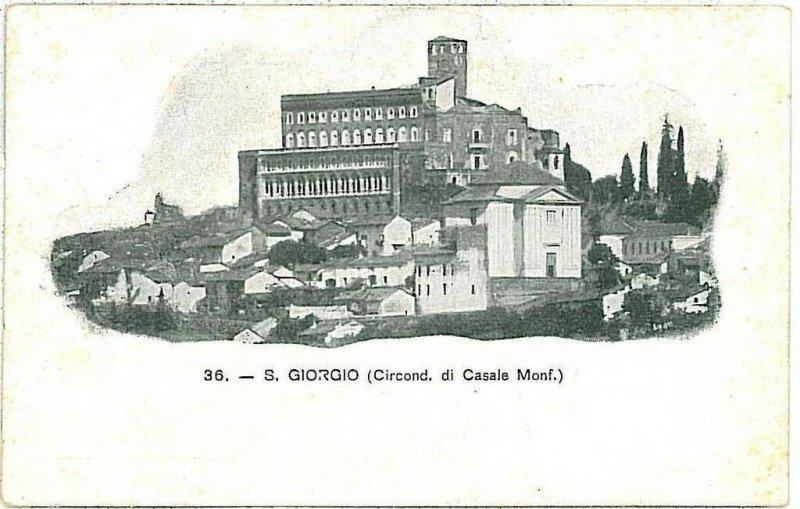 CARTOLINA d'Epoca: ALESSANDRIA - SAN GIORGIO MONFERRATO 1902