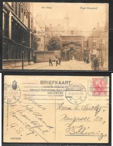 Netherlands, den Haag,  Port Binnenhof, mailed 1911