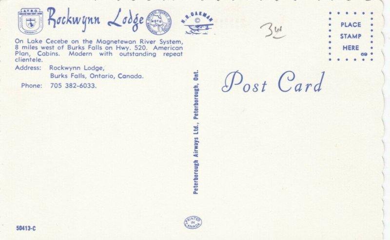 BUCK FALLS , Ontario, 50-60s; Rockwynn Lodge