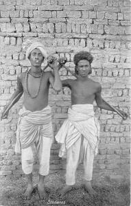 B84719 soudanes  types folklore   sudan