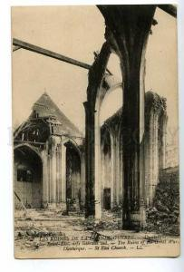 128228 WWI Ruins of Great War France DUNKERQUE Dunkirk OLD PC