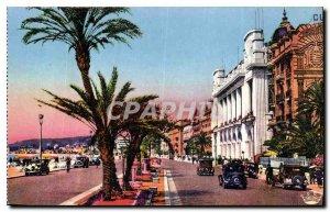 Postcard Old Nice Promenade des Anglais A M