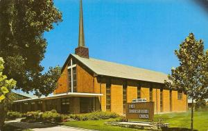 Grand Junction Colorado~First Congregational Church~1960 Postcard