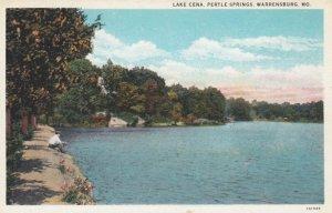 WARRENSBURG, Missouri, 1900-10s; Lake Cena, Pertle Springs