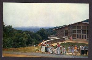 VA English Hall VIRGINIA BAPTIST ASSEMBLY Postcard PC