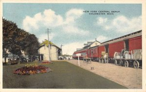 Coldwater Michigan Central Depot Vintage Postcard AA20122