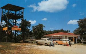 Eureka Springs Berryville Arkansas~Andy's Ozark Candies~Lookout Tower~1950s Cars