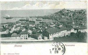 CARTOLINA d'Epoca: ANCONA Città: PANORAMA 1903