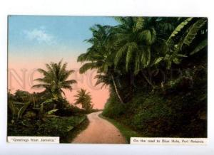 172185 GREETINGS from JAMAICA road to Blue Hole Port Antonio