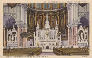 Interior, St. Nicholas Roman Catholic Church, Pacific And Tennessee Avenues, ...