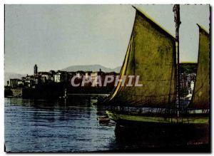 Modern Postcard The Viile Bastia and Corsica Corsica Boat Harbor