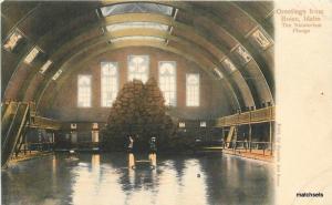 C-1910 Boise Idaho Natatorium Plunge Fausts postcard 6423