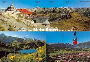 Nebelhorn Oberstdorf Seealpsee gege Heofats Mountains Cable Car Hochvogel