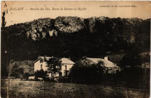 CPA Malais - Moulin des Iles, Route de Baume-la-Roche (586308)