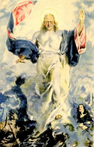 The Coming Peace & the Prince of Peace.  Artist: Howard Chandler Christy