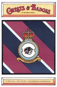 Postcard RAF Royal Air Force No.233 Operational Conversion Unit Badge No.108 NEW