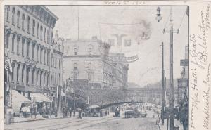 SPRINGFIELD , Massachusetts , 1906 ; Railroad Arch, Main Street