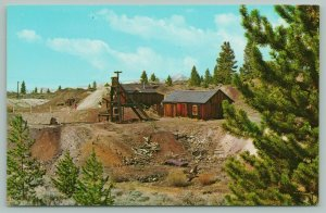 Leadville Colorado~Tabor's Matchless Mine~Wood Cabins~History on Back~1960s