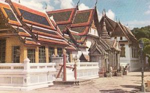 Thailand Thai Mahamontien Coronation Ceremony Vintage Photo Postcard