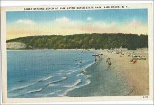 Sandy Bathing Beach, Fair Haven NY