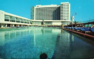 Florida Miami Beach Deauville Hotel Swimming Pool The Hotel Of The Stars