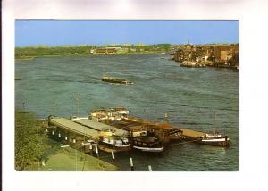 Boats in Harbour, Zwijndrecht, Netherlands
