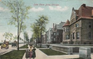 CHICAGO, Illinois, 1900-10s ; Lake Shore Drive