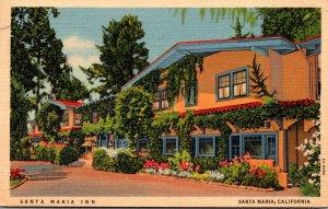 California Santa Maria The Santa Maria Inn 1942