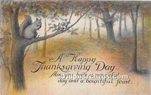 Thanksgiving Greetings Unused