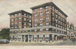 SPRINGFIELD, Missouri, PU-1909; Colonial Hotel, Trolleys