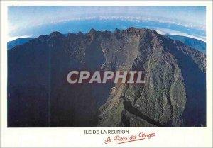Modern Postcard Reunion Island Piton des Neiges Reunion the roof