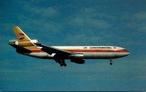 Continental Airlines McDonnell Douglas DC-10-10