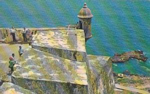 Puerto Rico San Juan El Morro Sentry Box