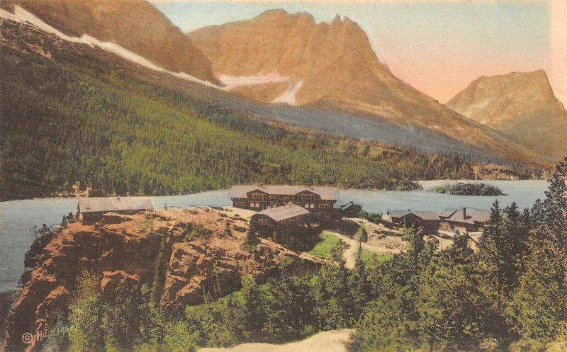 LP21  Glacier National Park Montana Rocky Mountains Albertype Lake St. Mary's