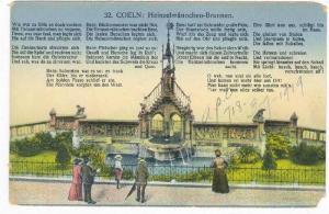 Heinzelmannchen-Brunnen, Coeln (North Rhine-Westphalia), Germany, 1900-10s