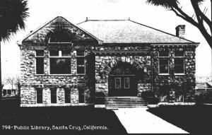 California Santa Cruz Public Library