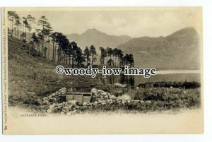 tq2483 - Cumbria - Early Undivided Back, Langdale Pikes - Postcard - Tuck's